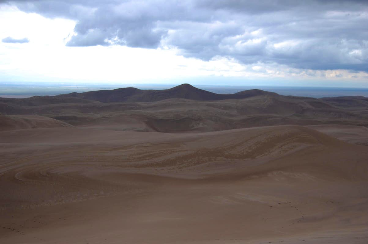 Star Dune : Climbing, Hiking & Mountaineering : SummitPost