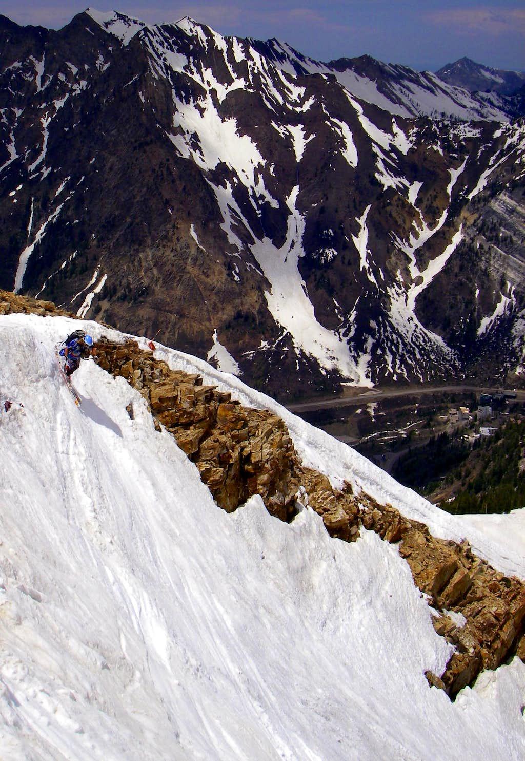 Skiing Mount Baldy