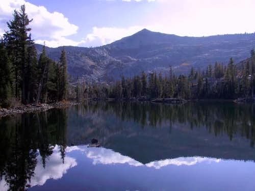 Ralston Peak is reflected in...