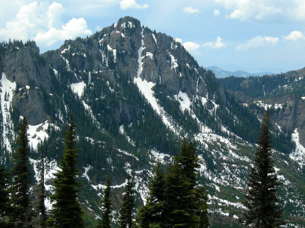 West Peak French Cabin Mountain