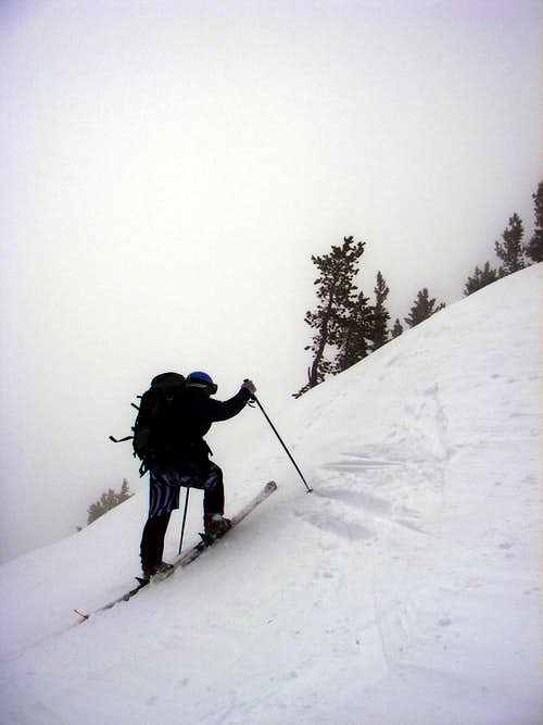 Skinning up Silver Fork