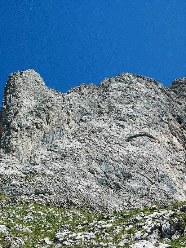 Sparafeld - Route Diagonale