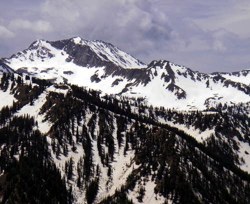White Baldy and Lake Peak