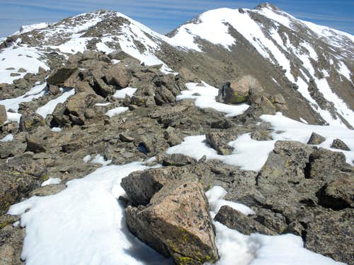 South Ridge of Mount Columbia