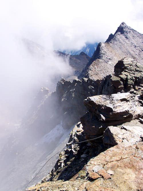 View on Tschenglser Hochwand