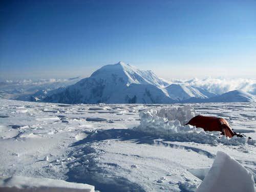 Views from Camp 4 at 14,000 feet