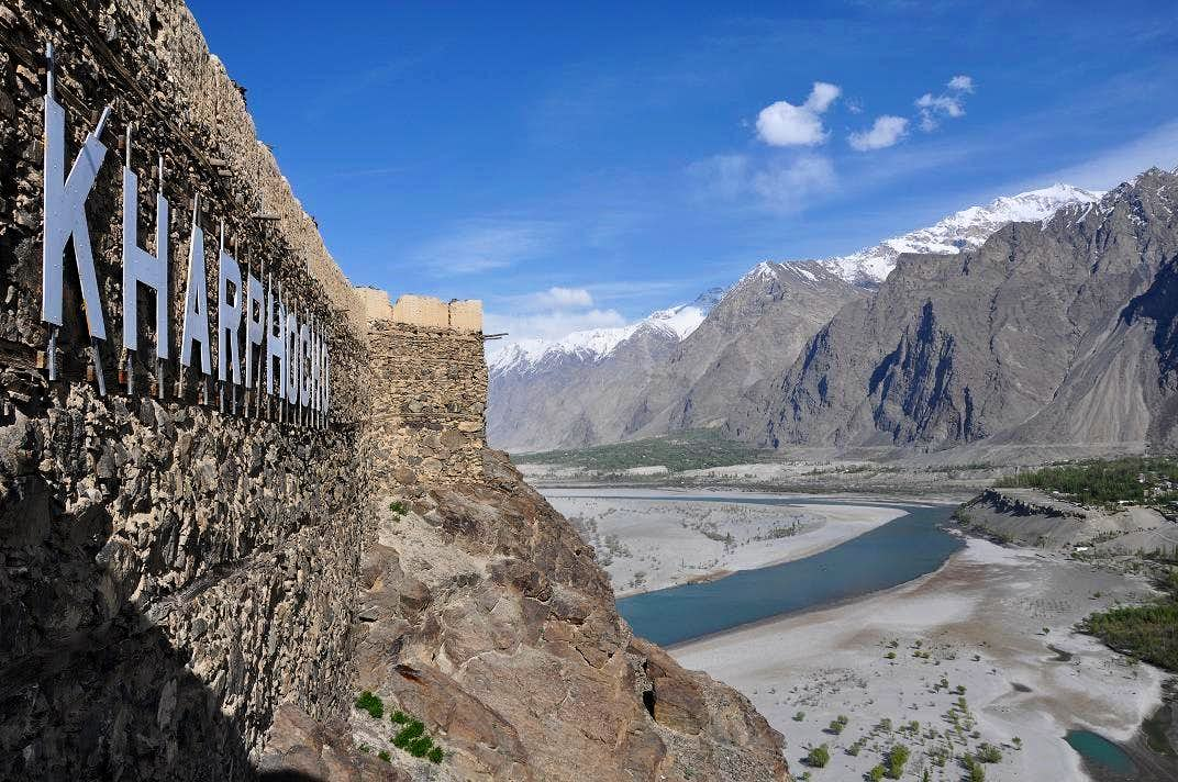 Image result for skardu fort