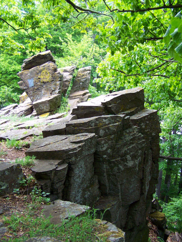 A cliff near Sas-kõ