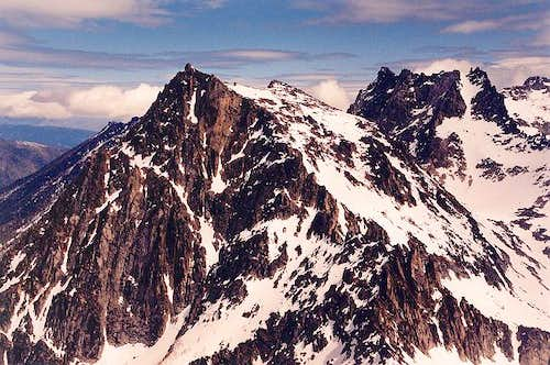 This is Colchuck Peak as...