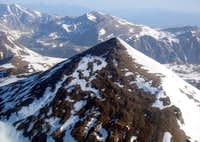 The easy side of Mt. Dana...