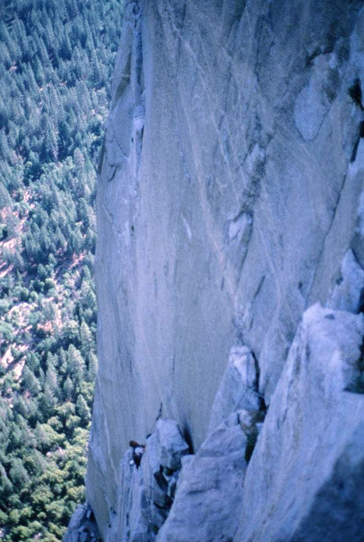 View from El Cap Tower