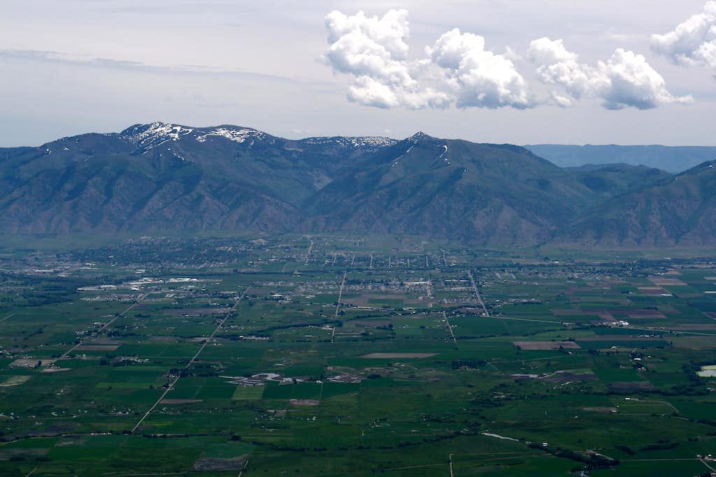 Viewing Logan Peak