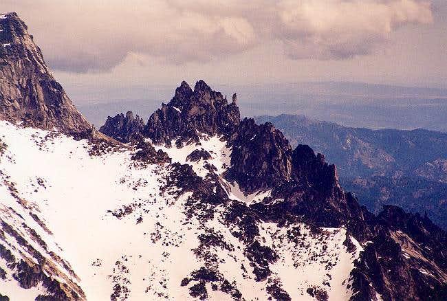 Pennant Peak as viewed from...