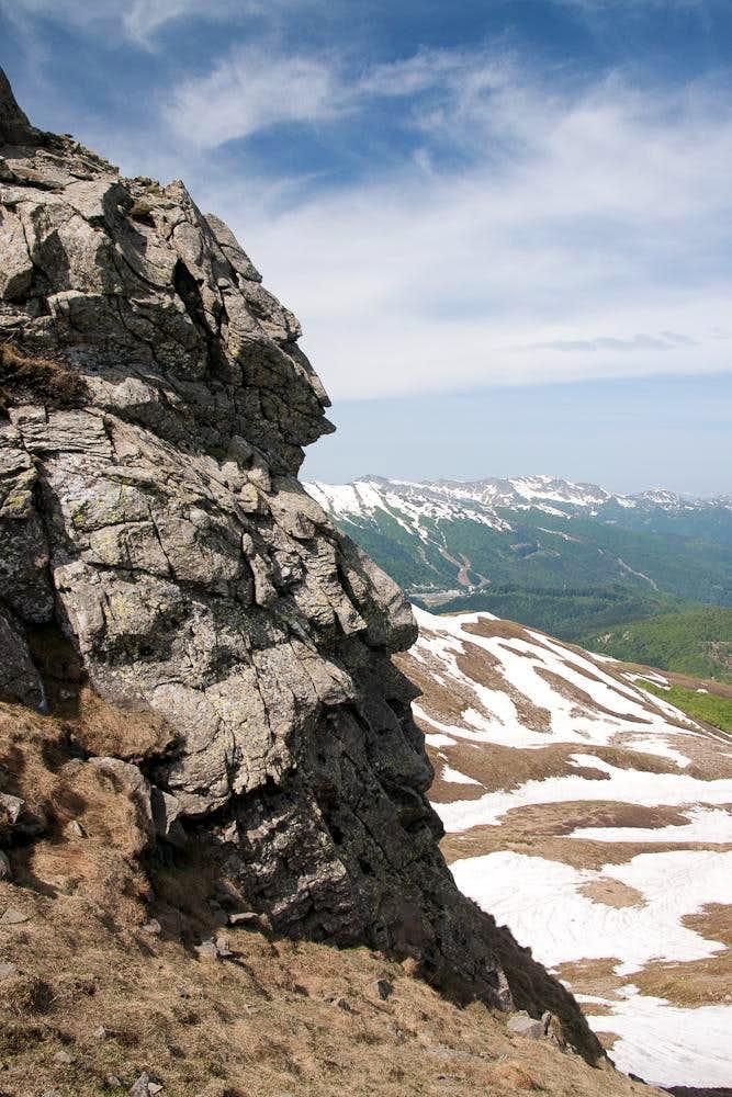 Monte Rotondo north ridge
