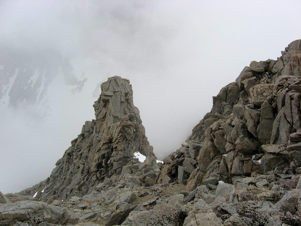 Landmark on the NW Ridge Variation