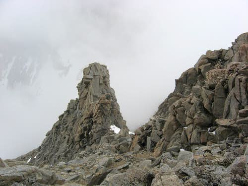 Landmark on the NW Ridge Variation