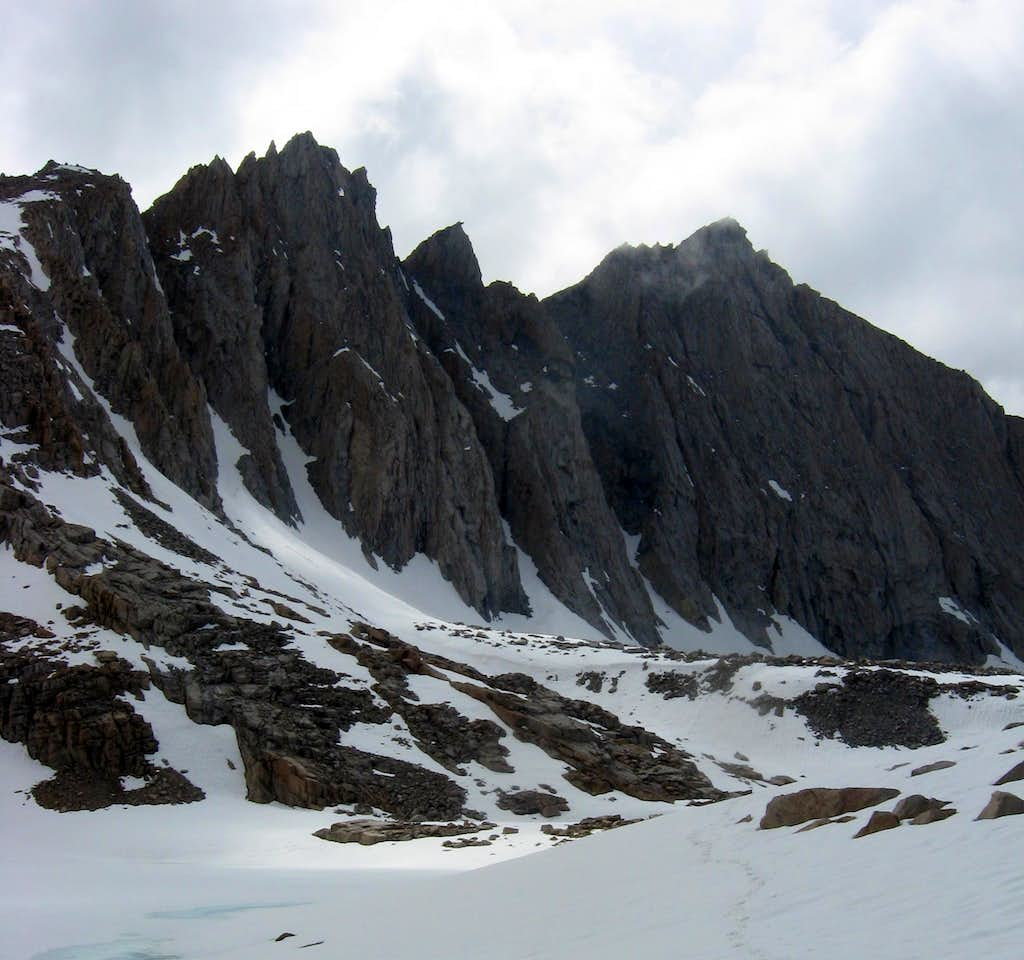 Tyndall from Williamson Bowl in May