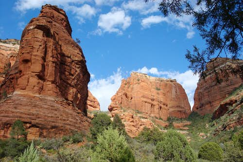 Scenery around Sedona, Arizona