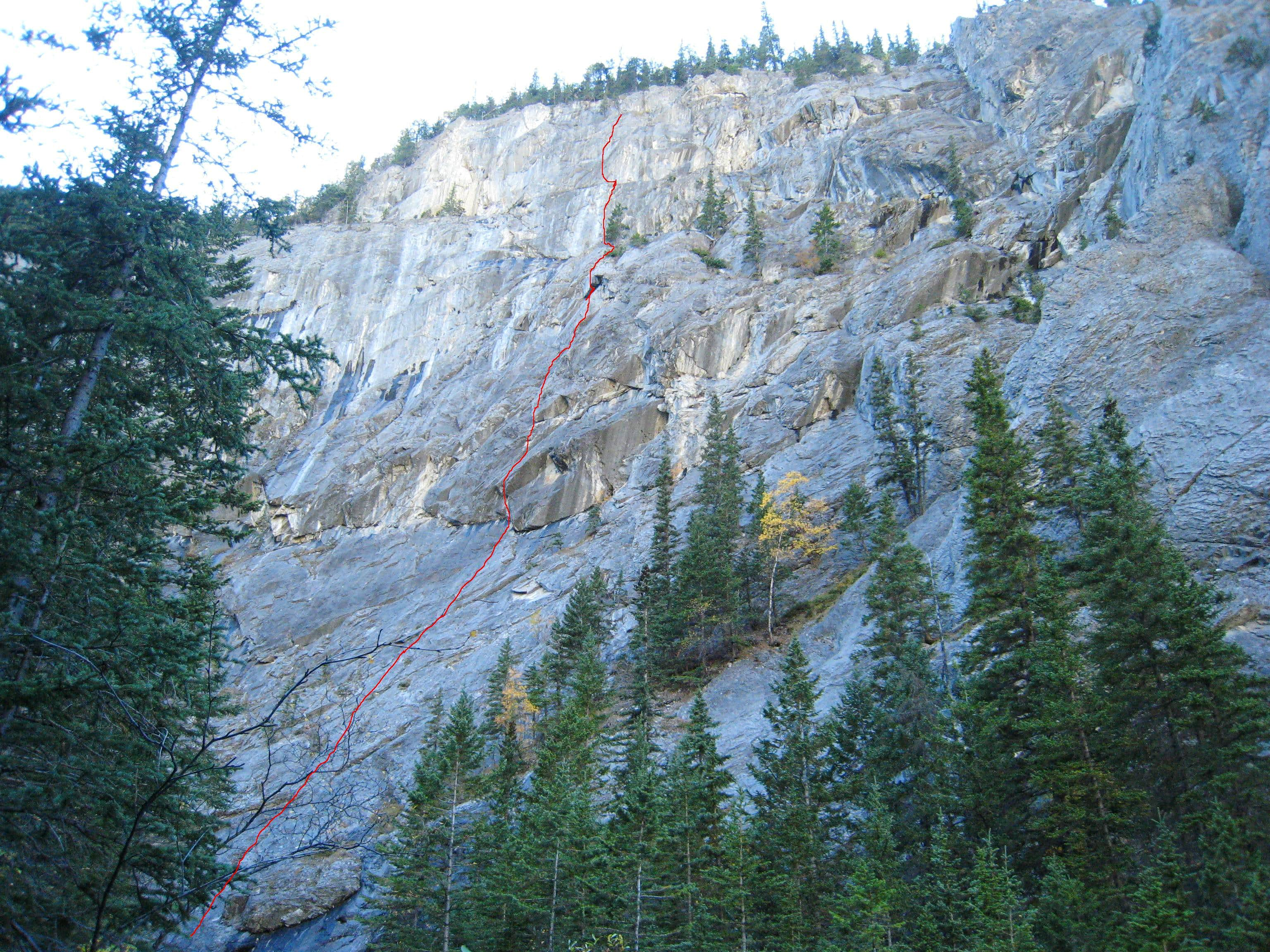 Sciatica - 5.10d, 6 pitches