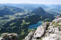 SW View from Scheffauer summit