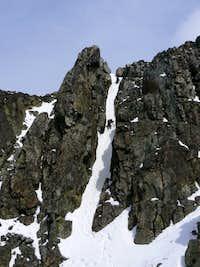 False Summit Chimney