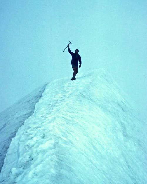 Geoff atop Eldorado Peak