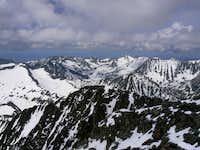 Crazy Peak summit view