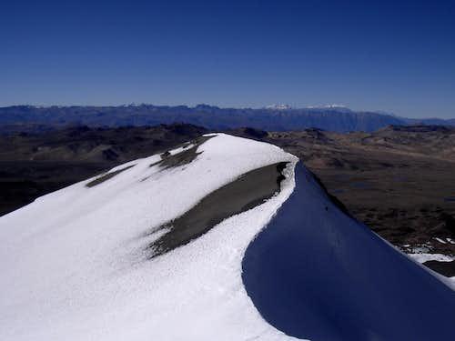 Nevados Ampato, Sabancaya and Hualca Hualca