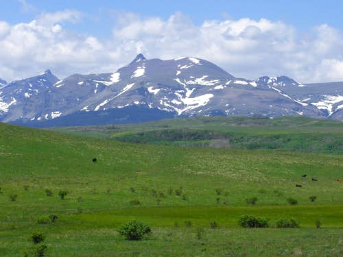 Mount Henry from U.S. Highway 2