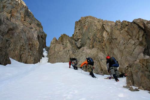 Approaching the crux