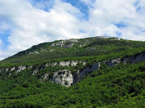 Interesting part of Ćićarija range