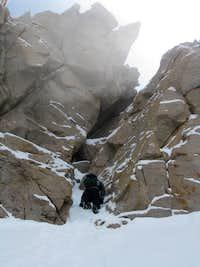 West Face Chimney