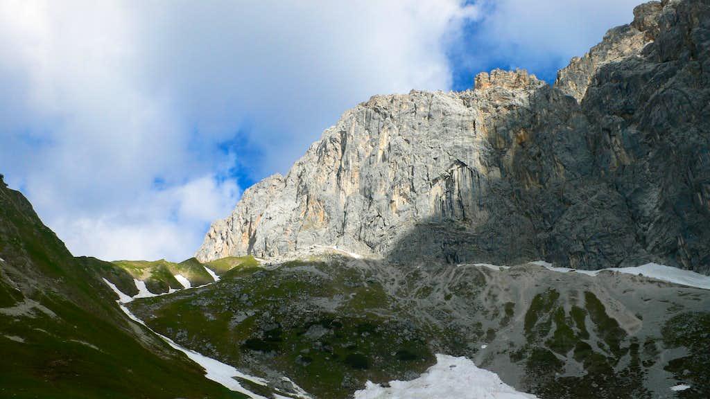 The Schüsselkarspitze Southeast Face