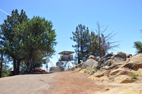 La Cumbre Peak Lookout Station