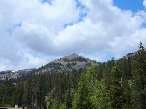 Entin Peak from the parking area