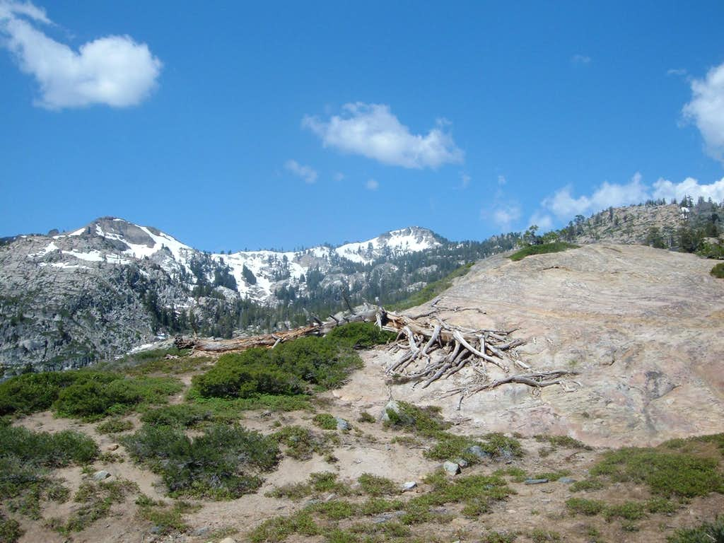 First view of Granite Chief