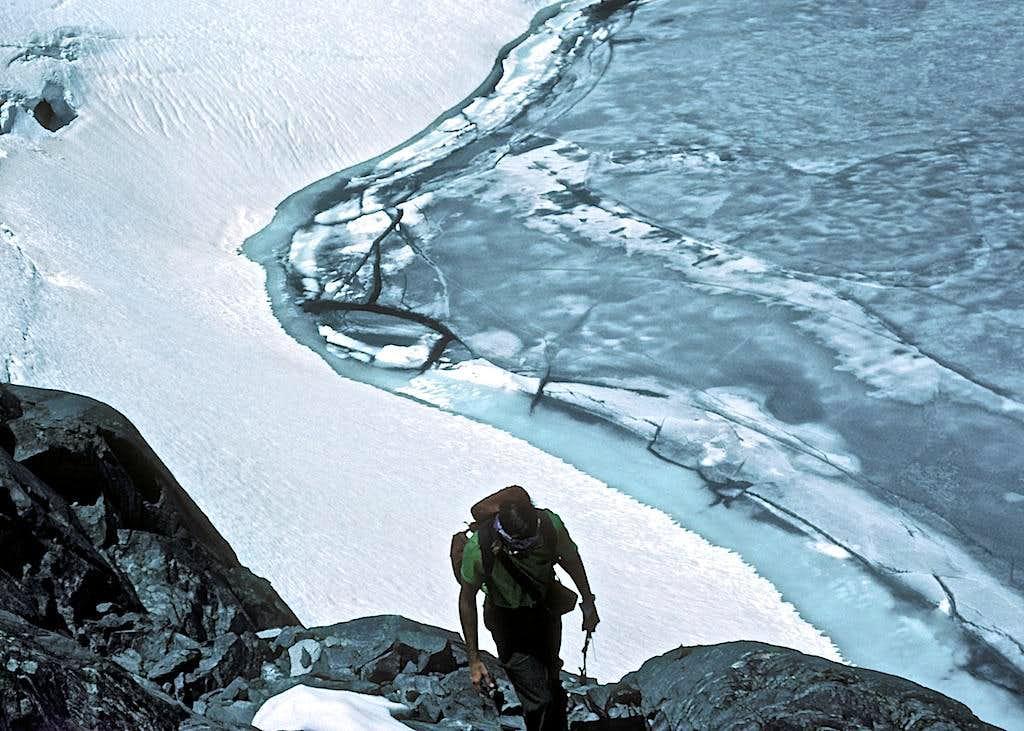 Above Upper Marie Lake