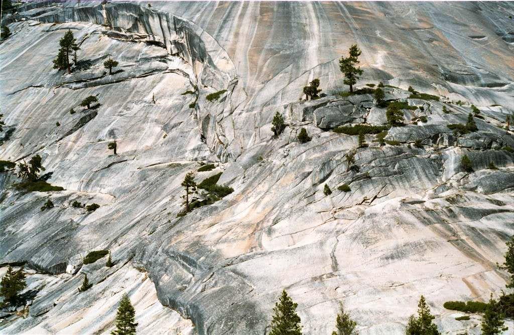 Yosemite granite
