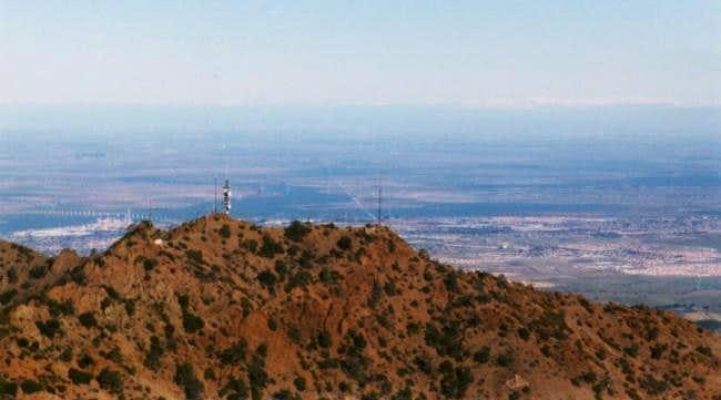 View of North Peak and San...