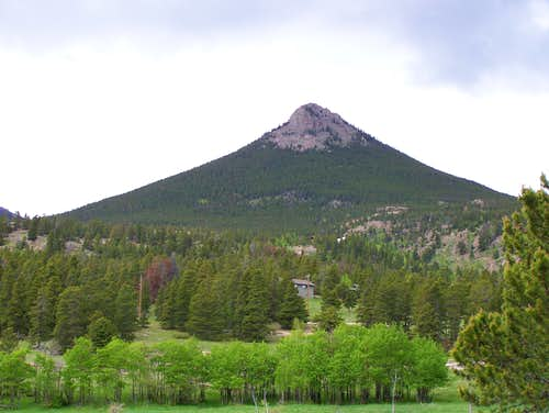 Estes Cone from Highway 7