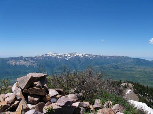 James Peak (UT) looking west