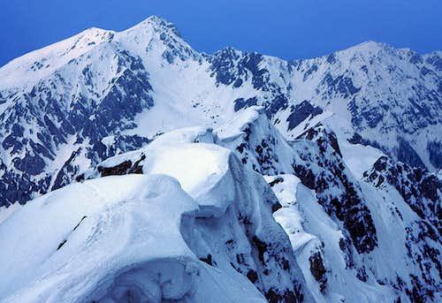 From the summit of Vrtaca