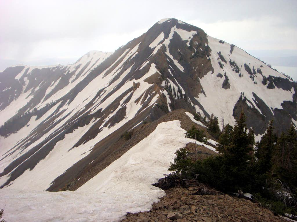 Provo Peak's East Aspect