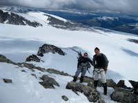Ridge to Galdhøpiggen