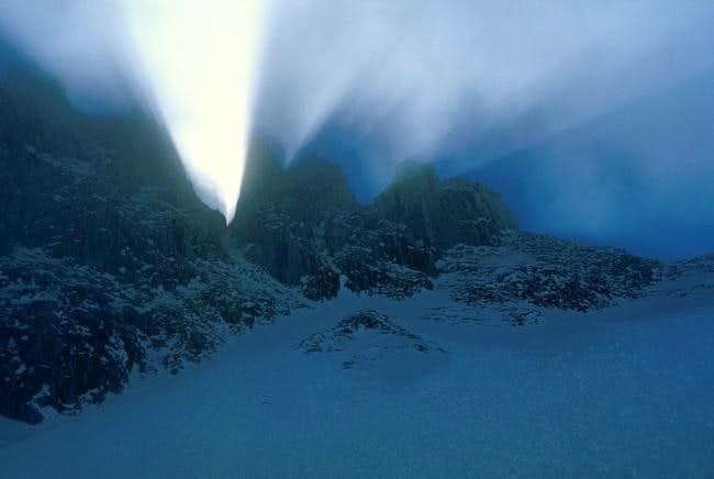 Great light effects below the...