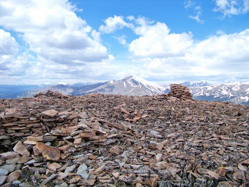 Across the summit to Silverheels