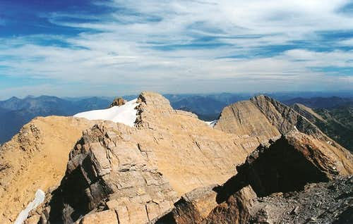 Great Northern Mountain-- Summit View