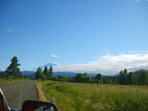 Road from Trout Lake
