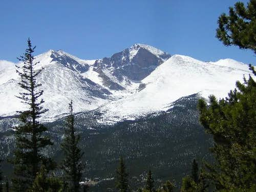 Long's Peak, from Twin...