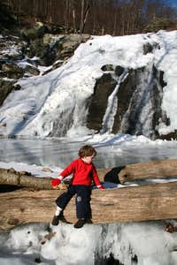Frozen Whiteoak Canyon Falls-- #6